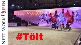 Equitana Essen 2017 Isländer Tölt IPZV Equestrian Sports 2017 Islandpferde Quadrille
