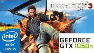 Just Cause 3:GTX 1050 TI 4GB i5 4460