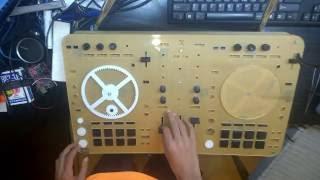 Homemade DJ MIDI Controller