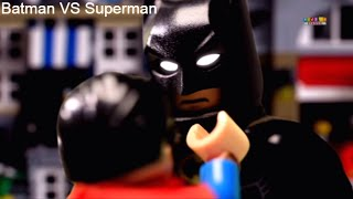 Batman VS Superman | Lego Wars | Lego Superhero | STOPMOTION