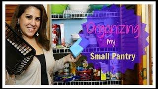 SMALL PANTRY ORGANIZATION!!