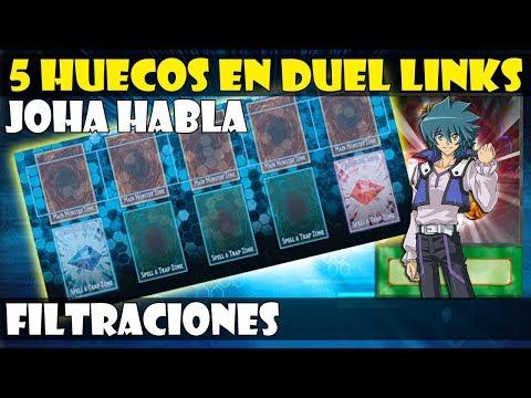 MASTER DUELS/5 HUECOS EN DUEL LINKS | FILTRACIONES - DUEL LINKS