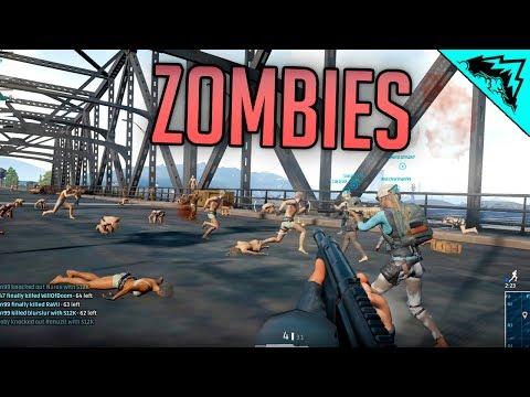 BATTLEGROUND ZOMBIES LIVE - PlayerUnknown's Battlegrounds Gameplay