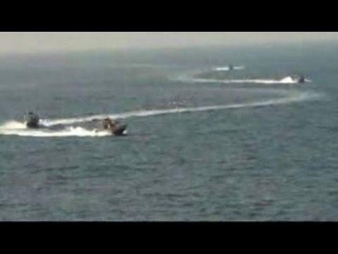 Iranian vessels harass US Navy destroyer