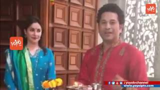 Sachin Tendulkar Celebrates #GudiPadwa with Wife Anjali | #UGADI | YOYO TV Channel