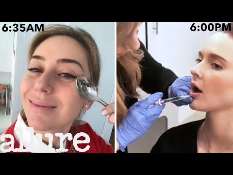 A Dermatologist's Entire Routine From Waking Up to Lip Injections Work It Allure