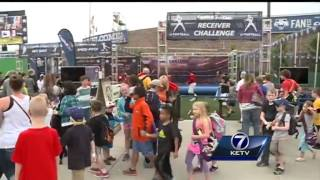 Fan fest ready with food, music, and activities