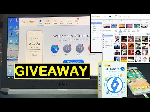 Best iPhone files Manager All in One IOTransfer GIVEAWAY