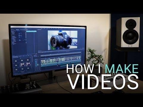 How I Make YouTube Videos Screen Recording Audio & Editing