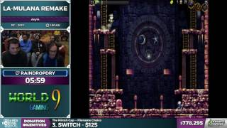 La-Mulana Remake in 1:31:38 - Awesome Games Done Quick 2017 - Part 138