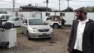 Before container loading used cars form Japan
