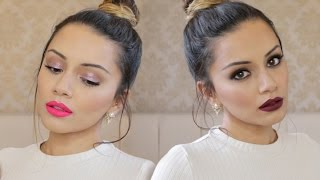 Tutorial   Day Glam to Night Glam Makeup Tutorial ad   Kaushal Beauty