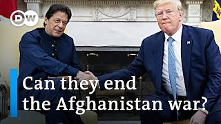 Trump seeks support from Pakistani PM Khan on way out of Afghan war | DW News