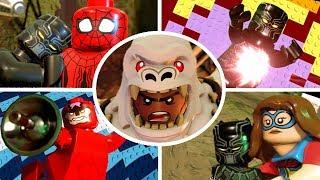 LEGO Marvel Super Heroes 2 Walkthrough Part 4 - Black Panther Hunts Down Klaw & Defeat Man-Ape