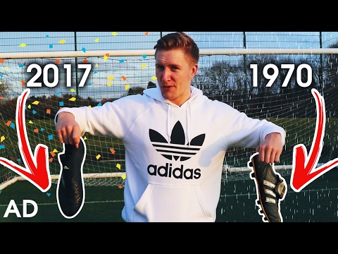 1970's Vs. 2017 Football Boots! ⚽️ THE BOOT GENERATION CHALLENGE ⚡️