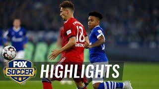 Schalke 04 vs. Bayern Munich | 2018-19 Bundesliga Highlights