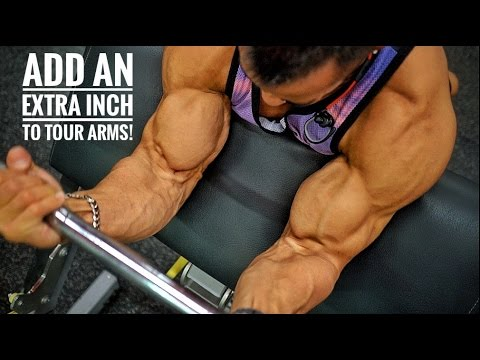 HOW TO ADD AN EXTRA INCH TO YOUR ARMS! | Travelling & Training | SYDNEY