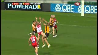 Josh Gibson crunched - AFL