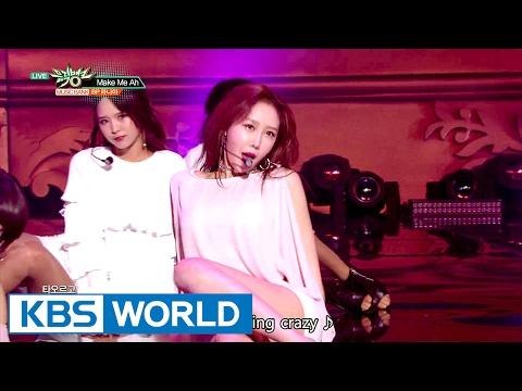 BP RANIA (BP ыЭ╝ыЛИьХД) - Make Me Ah [Music Bank / 2017.02.17]