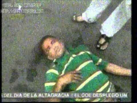 GOLPISA A HOMBRE ROBANDO EN SANTIAGO