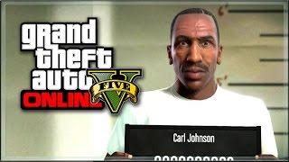 IL RITORNO DI CJ SU GTA 5! CARL JOHNSON & GUERRA TRA GANG!