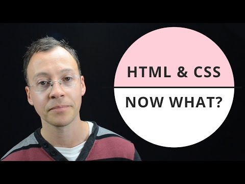 Channel intro - what next after learning HTML and CSS