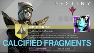 Destiny calcified fragment XXXI :Battle made waves