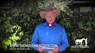 Monty Roberts at THE MOVEMENT 2018