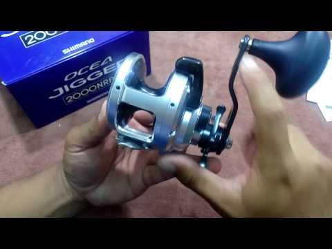Open Box & Review 2012 Shimano Ocea Jigger 2000NRPG