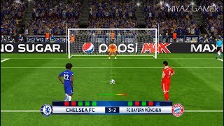 CHELSEA vs BAYERN MUNICH | Penalty Shootout | PES 2017 Gameplay