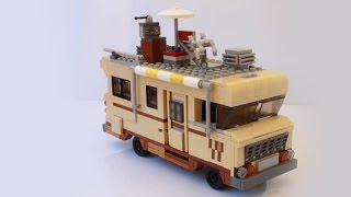 Dale's RV from the Walking Dead built with Lego