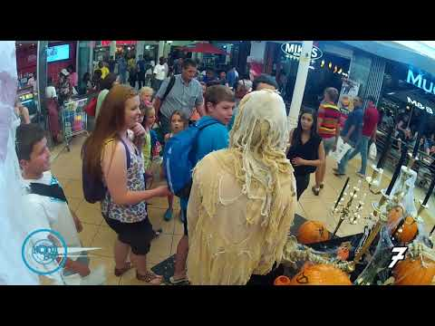 Northgate Shopping Center Trick and Treat Prank SO FUNNY