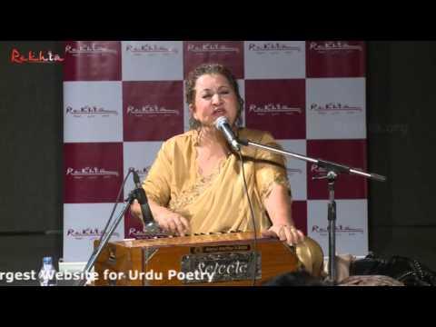 Meri dastan-e-hasrat wo suna suna ke roye_Ghazal_Munni Begum