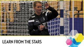 Learn handball from the stars | Sandra Toft | EHF EURO 2016