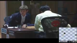 The moment Magnus Carlsen became World Chess Champion