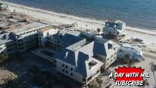 6 Days After Hurricane Michael Mexico Beach FL (DRONE FOOTAGE)