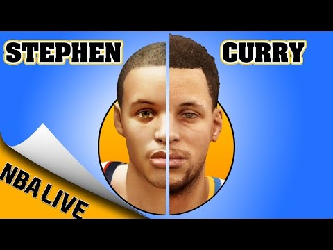 STEPHEN CURRY evolution from NBA LIVE