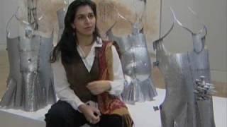PAKISTAN ARTIST EXPLORES THE FEMALE FORM