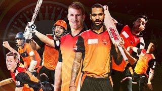 Vivo IPL9 2016 : Sunrisers Hyderabad's Team Squad | IPL 2016 | Cricket Fan Club