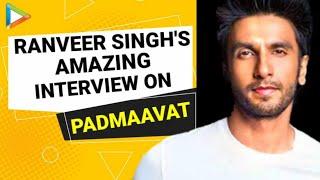 Ranveer Singh | Padmaavat | Full Interview