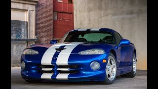 DODGE VIPER GTS REVIEW | AN AMERICAN ICON