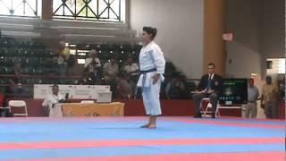 Yohana Sanchez (Bassai dai) vs. Mabel Cardenas (Seinchin)