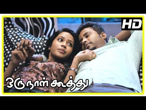 Oru Naal Koothu Tamil movie | scenes | Riythvika insulted | Dinesh shares his insecurity | Nivetha