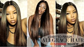 ALI GRACE BRAZILIAN STRAIGHT HAIR - 2 MONTH IN DEPTH REVIEW