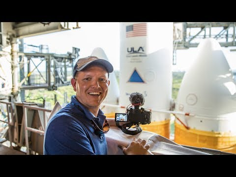 UP CLOSE Delta IV Heavy Launch Pad Tour Tory Bruno CEO of ULA Smarter Every Day
