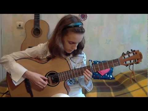 (Tears For Fears) Mad World - Alina Vlasova fingerstyle guitar cover