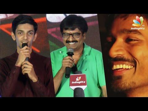 Xxx Mp4 Vivek Was The First Person Who Predicted Kolaveri Di Success Anirudh Speech At Rum Songs Launch 3gp Sex