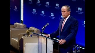 President Bush's remarks at The Spirit of Liberty: At Home, in the World