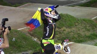 Mariana Pajón campeona mundial BMX 2016 en Medellín