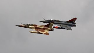 Couteau Delta Dassault Mirage 2000D French Air Force flying Display RIAT 2017 AirShow